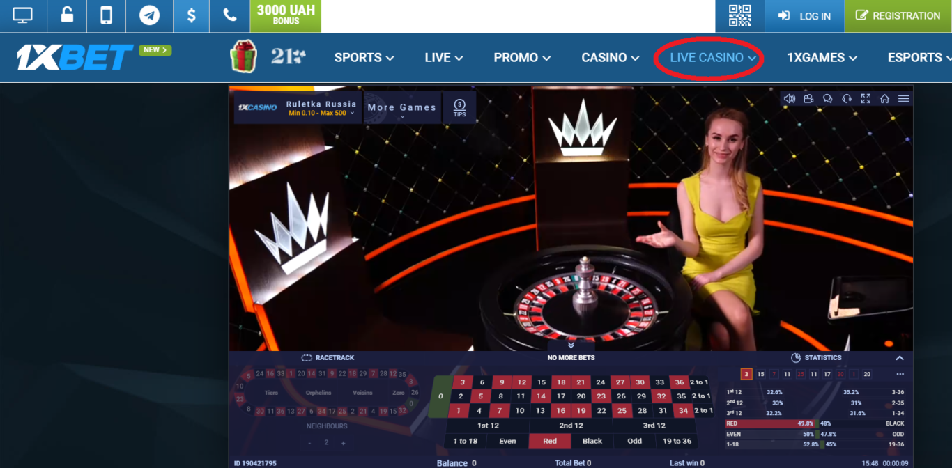 1xBet streaming live betting in Nigeria